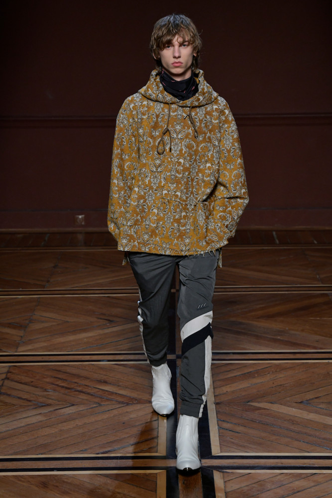 FallWinter 1819  Mens Collection fashion week in Paris